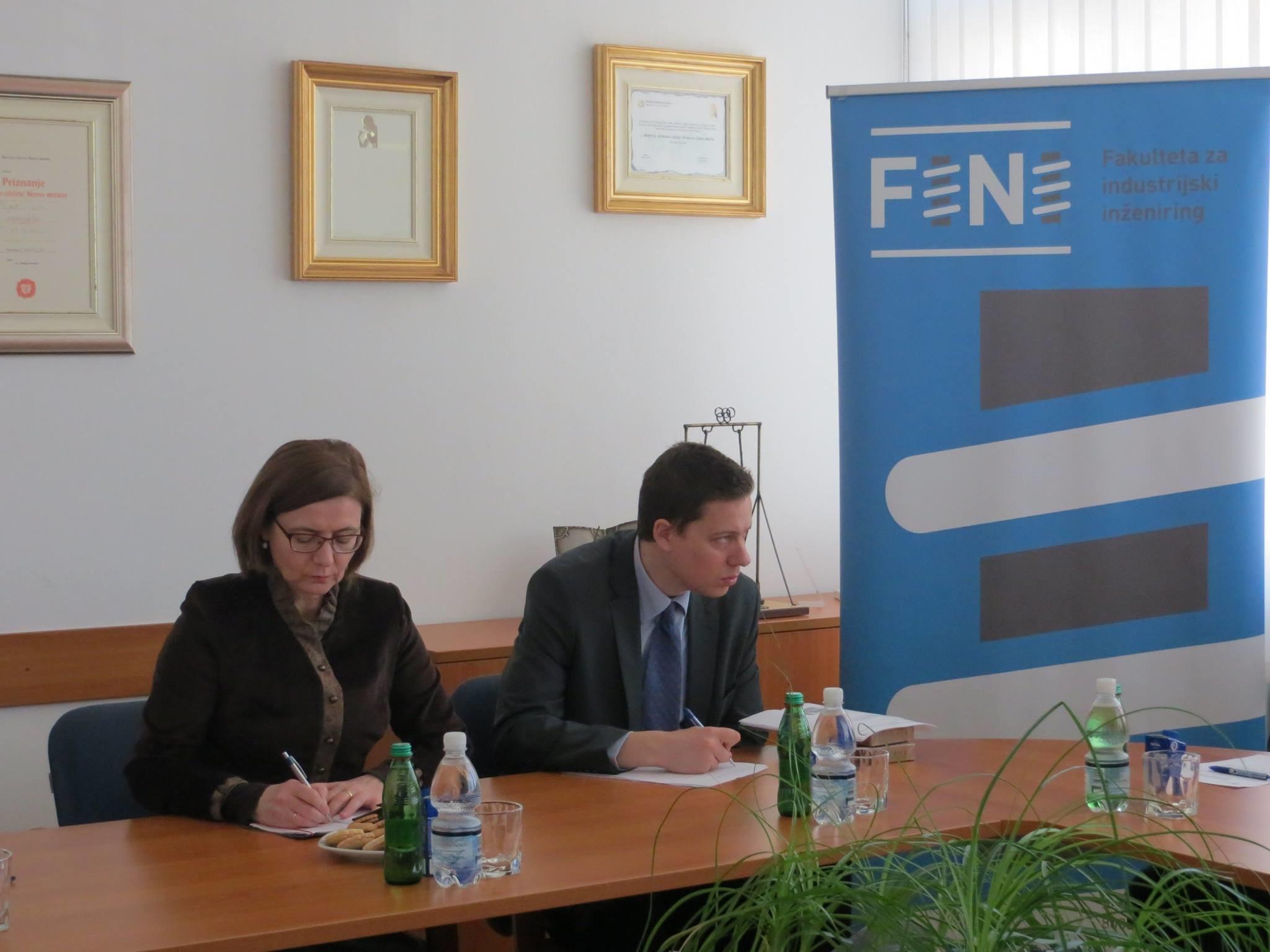 FINI Novo mesto je obiskala madžarska veleposlanica v Sloveniji