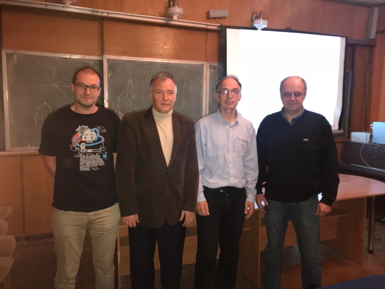 Mednarodna vpetost FINI na Evropski ravni: vzpostavljeno je sodelovanje z Državno univerzo v Sankt Peterburgu