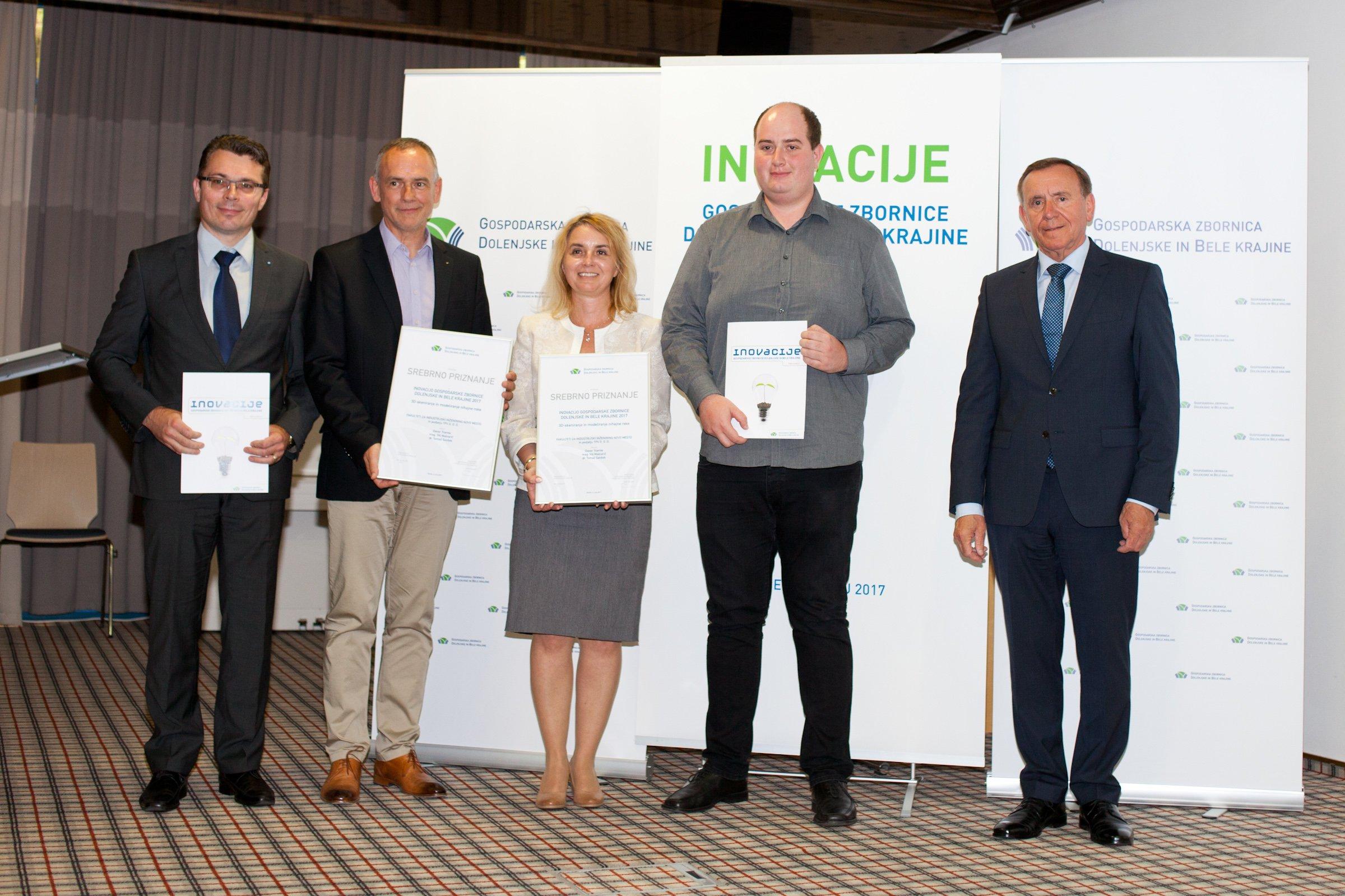 FINI dobil srebrno priznanje GZDBK za leto 2017