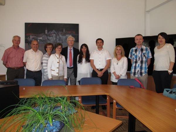 Obisk prof. dr. Antona Mavretiča