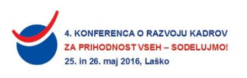 4. Konferenca o razvoju kadrov