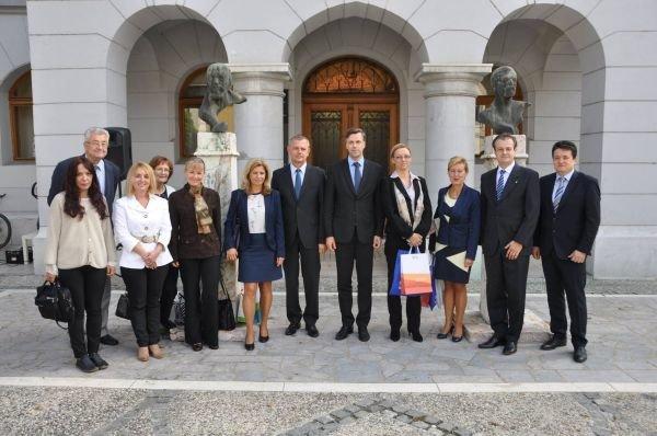 Obisk delegacije iz mesta Dunaújváros