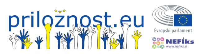 Vabilo na zaposlitveno info-delavnico PRILOŽNOST.EU