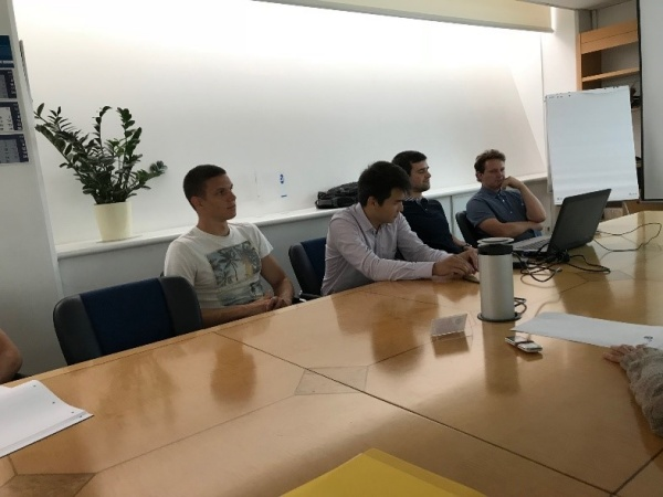 FINI v sodelovanju z visokotehnološkim podjetjem SiEVA d.o.o in študenti organiziral strokovno srečanje z ruskima znanstvenikoma iz Univerze v Sankt Peterburgu