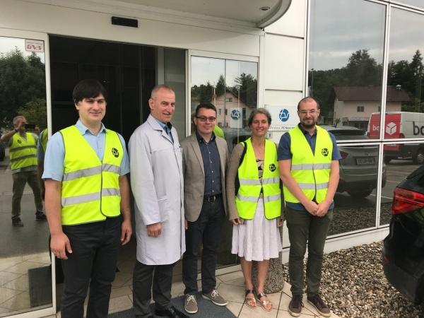 Obisk ruskih znanstvenikov na Fakulteti za industrijski inženiring Novo mesto in v podjetju TPV d.o.o.