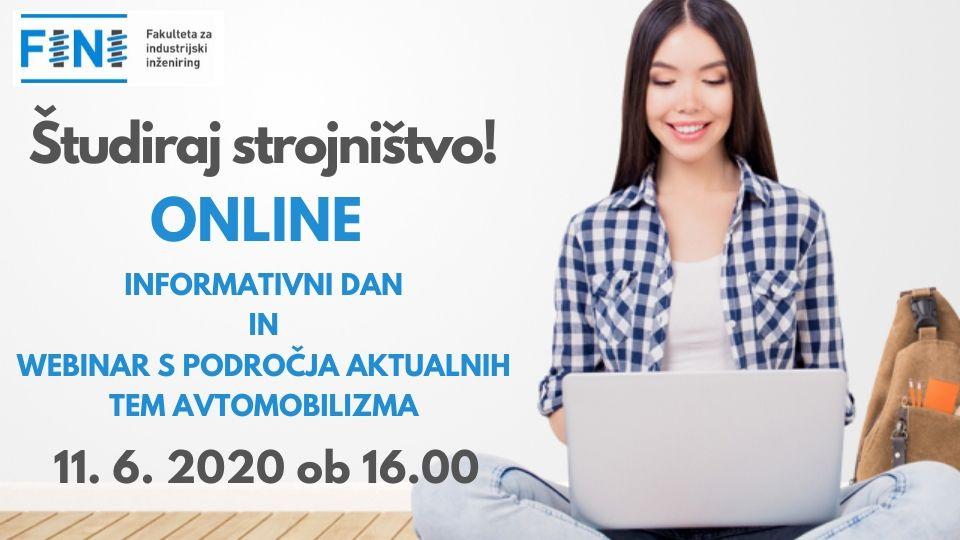 Online informativni dan in webinar