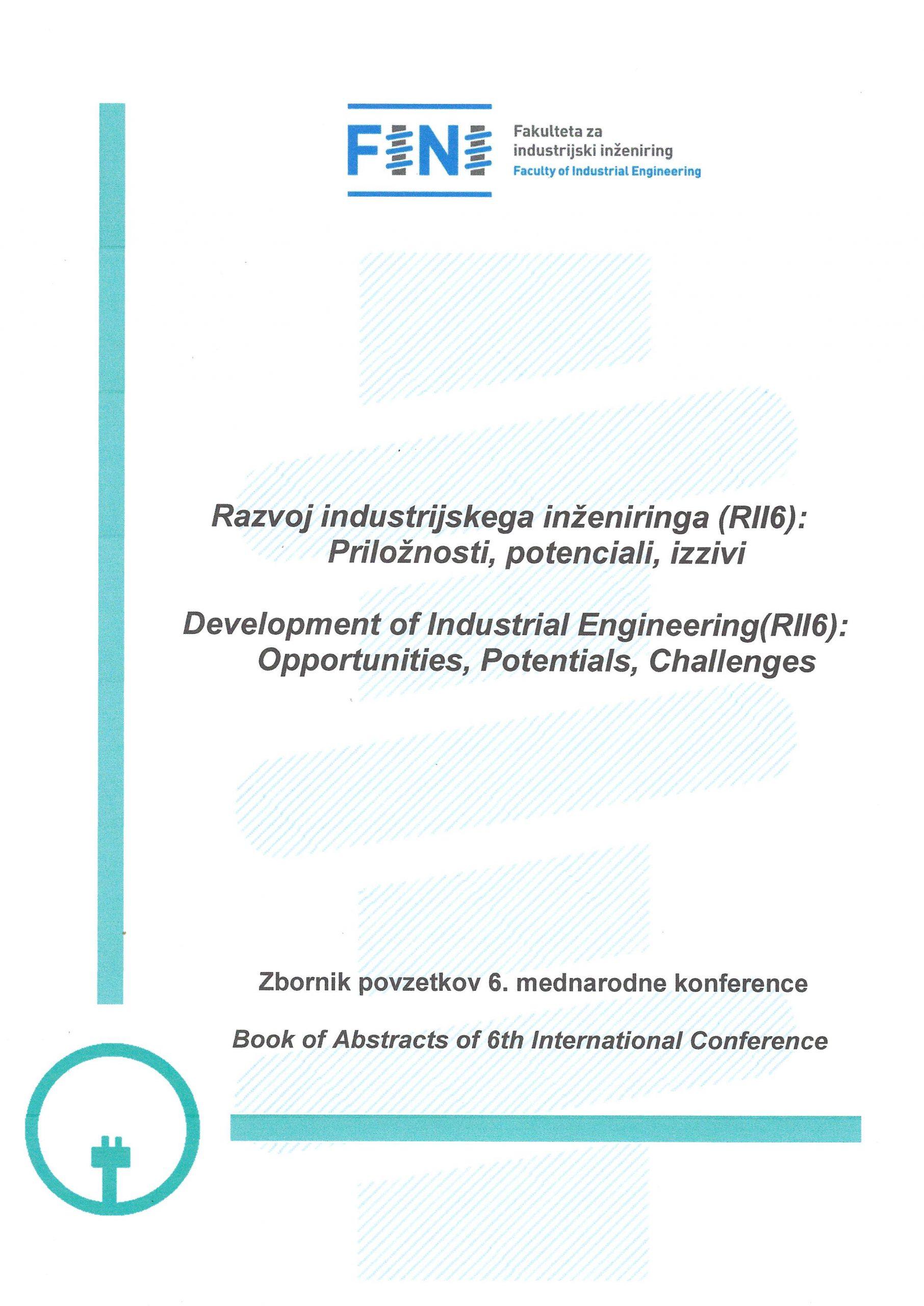 Zbornik povzetkov 6. mednarodne konference