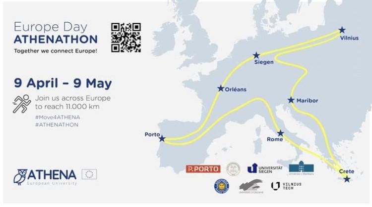 Europe Day ATHENATHON