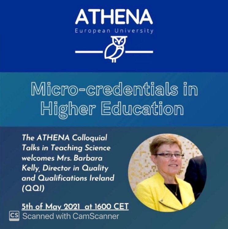 WEBINAR: Micro-Credentials in Higher Education