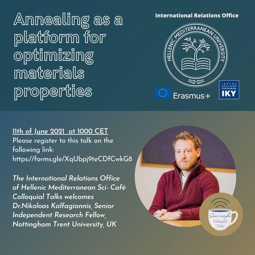 WEBINAR: Laser Annealing as a platform for optimising materials properties