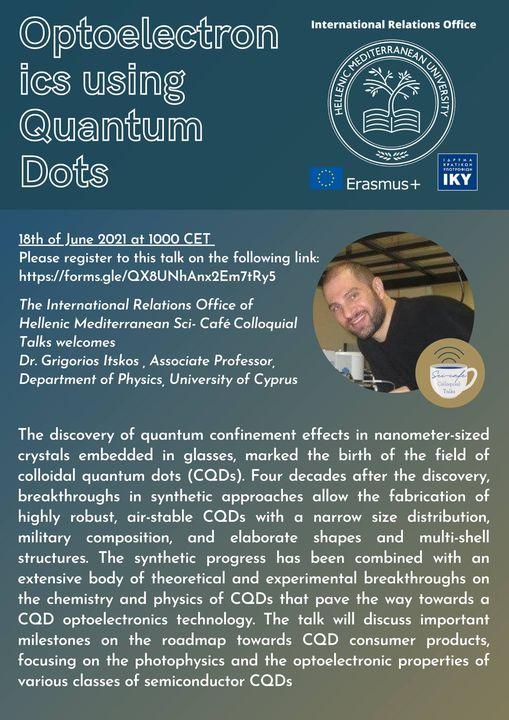 WEBINAR: How quantum dot configurations find applications in optoelectronics