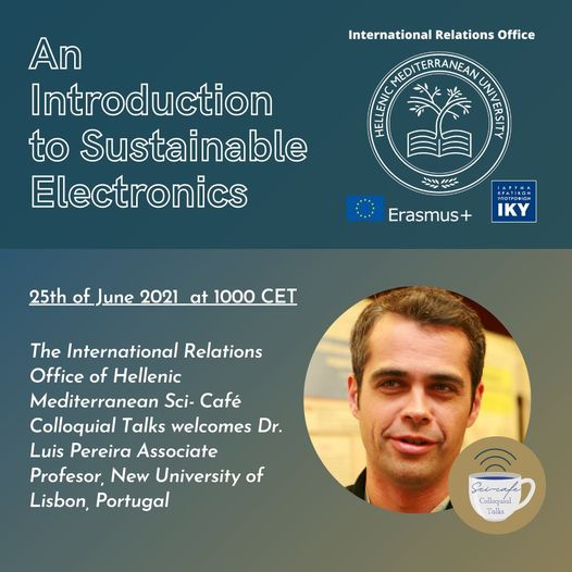 WEBINAR: Nature-Based and nature Inspired Functional Materials for Sustainable Electronics