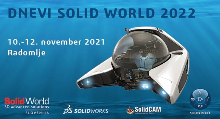 Vabljeni na dogodek Dnevi Solid World 2022!