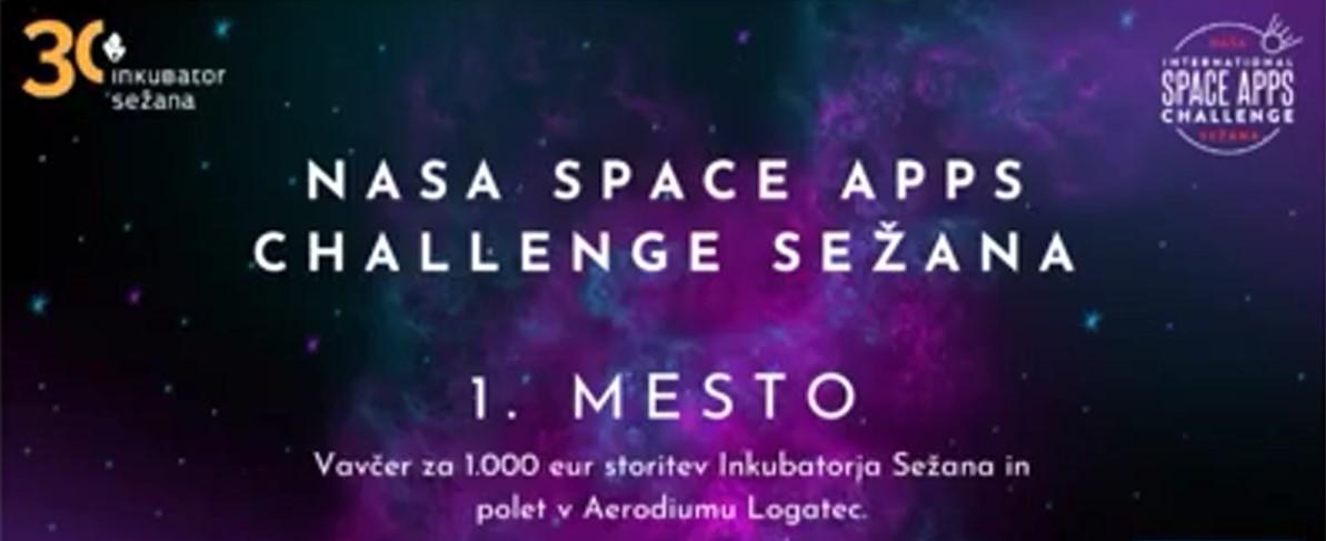 Z inovacijo v padalstvu je študent magistrskega študija Matej Francelj slavil zmago na NASA Space Apps Challenge Sežana 2021